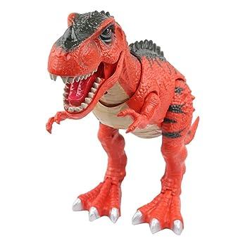 Yier® Jouets électroniques Red T-rex Dinosaur