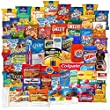 College care package premium gift for Students and military Home away bundle (76 count)