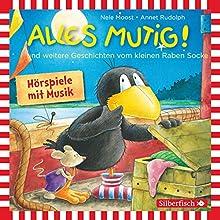 Alles mutig! und weitere Geschichten vom kleinen Raben Socke (       ungekürzt) von Nele Moost, Annet Rudolph Gesprochen von: Jan Delay