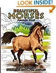 Beautiful Horses - Coloring Book for...