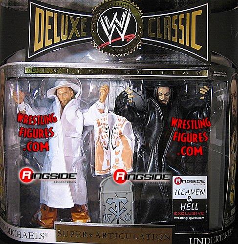 Buy Low Price WRESTLING HEAVEN & HELL RINGSIDE EXCLUSIVE 2-PACK WWE Wrestling Action Figures (B002ZAKSJ6)
