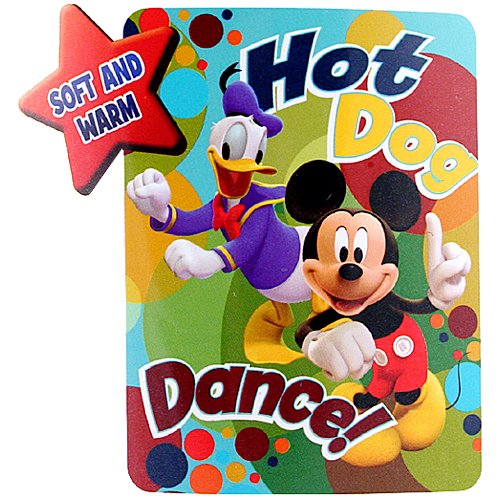 Mickey Mouse Clubhouse Fleece Throw front-830610