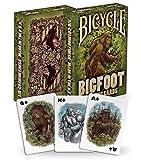 Bicycle Bigfoot Playing Cards