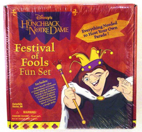Disney's the Hunchback of Notre Dame - Festival of Fools - Fun Set - Buy Disney's the Hunchback of Notre Dame - Festival of Fools - Fun Set - Purchase Disney's the Hunchback of Notre Dame - Festival of Fools - Fun Set (Disney, Toys & Games,Categories,Arts & Crafts,Craft Kits,Paper Craft)