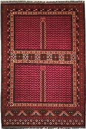7x10 PERFECT Afgan Hatchlu Quality Wool on Wool Carpet