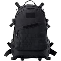 CVLIFE 3D Outdoor Military Rucksacks Tactical Molle Backpack with Waterproof Pouches