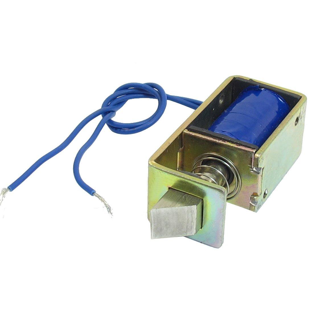 Solenoide per serrature elettriche porte,telaio aperto,DC 12V 1A 10mm 15N di for