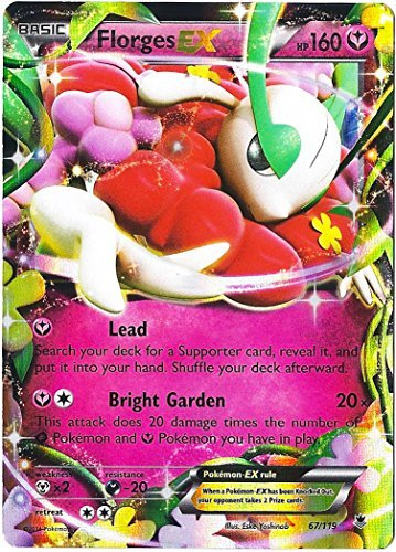 Pokemon Florges Ex Xy Phantom Forces 67/119