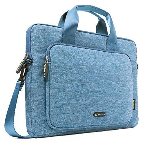 evecase-maletin-clasico-para-portatil-116-pulgadas-funda-para-tablet-con-correa-de-hombro-azul