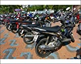 Photographic Print of Motorcycles in Pat...