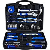 Vastar 102 Pieces Home Repair Tool Kit, General Household Tool Kit For Home Maintenance with Plastic Toolbox Storage Case