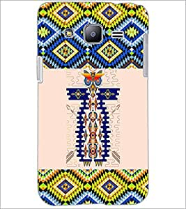 PrintDhaba Owl Pattern D-5640 Back Case Cover for SAMSUNG GALAXY J2 (Multi-Coloured)