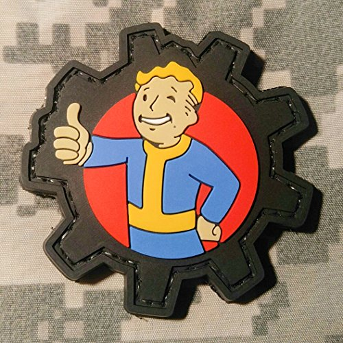 FALLOUT Pip Boy PVC Rubber Morale Patch by NEO Tactical Gear Morale Patch - Hook Velcro Sewn On Back (Ps4 Merchandise compare prices)