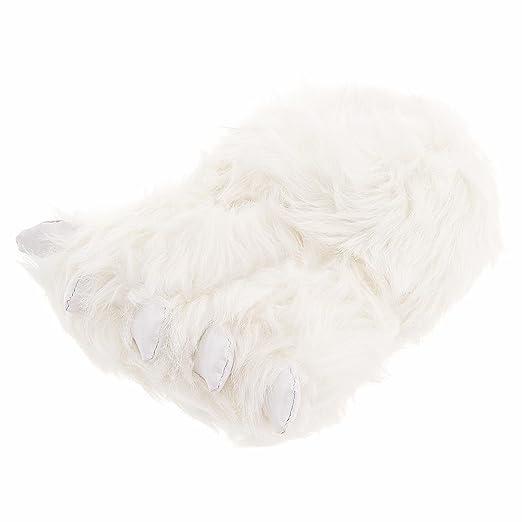Polar Bear Paw Slippers for Men and Women