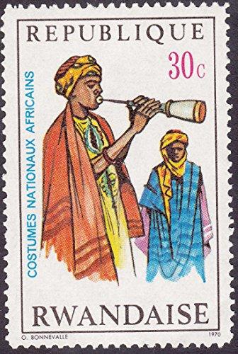 [Republic Of Rwanda 30 ¢ Postage Stamp] (Postage Stamp Costume)