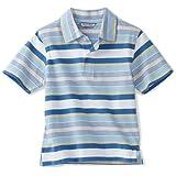 Kitestrings Little Boys' Little Jersey Striped Short Sleeve Polo