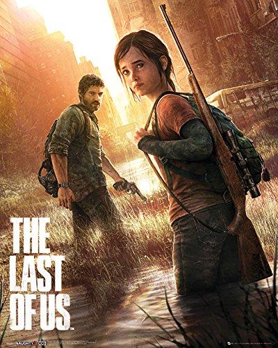 """GB eye - Stampa con cornice, 40 x 50 cm """"Key Art, The Last of Us"""", Mini poster, multicolore"""