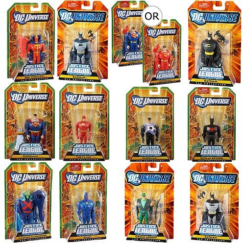 Buy Low Price Mattel Justice League Unlimited Action Figures 2010 Wave 3 Case (B003YE77YQ)