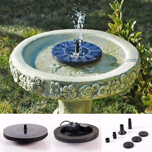 Soledi-Pretty-Solar-Panel-Powered-Water-Floating-Pump-Birdbath-Pump-Fountain-Garden-Plants-Pool-Watering-Solar-Pump-Kit-One-Set-Fashion-Charming