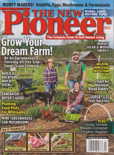 Country Almanac Presents #167 The New Pioneer 2013 Magazine