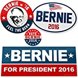 Vipergraphics, Bernie Sanders Sticker Pack - Feel the Bern (4 Stickers)
