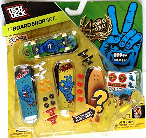 Tech Deck Board Shop Santa Cruz 40th Anniversary Screaming Hand + Mystery 20056355