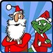 Santa Vs Grinch from clozaps