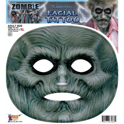 Forum Novelties F67083 Zombie Facial Tattoo