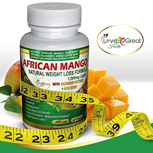 Mangue africaine naturelle poids perte formule