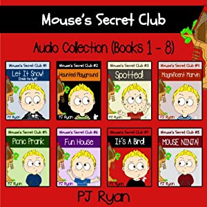 Mouse's Secret Club Books 1-8 Audiobook