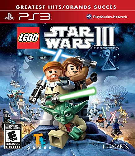 LEGO Star Wars III The Clone Wars - Playstation 3 (Ps3 Clone Console compare prices)