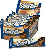 Labrada Nutrition Lean Body Cookie Roll Meal Replacement Bar, Chocolate Chip, 2.82-Ounce Bars (Pack of 12)