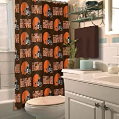 Cleveland Browns Shower Curtain by Northwest