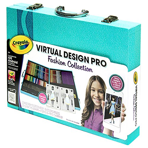 Crayola virtual design pro fashion set 885414083258 Crayola fashion design studio reviews