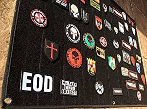 Grand Noir Velcro Moral Panel Display Patch