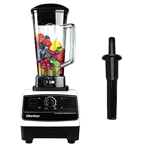 Glantop 2200W High Performance Professional Commercial Blender Via Amazon