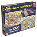 Jan van Haasteren Special Edition Food Frenzy Jigsaw Puzzle Collection (2000 Pieces)