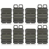 Tactical Fast Mag, Magazine Pouch Bag Holder Attachment Box Pouches ( Color : ARMY GREEN-8PCS ) (Color: ARMY GREEN-8PCS)