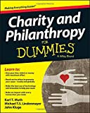 Charity and Philanthropy For Dummies