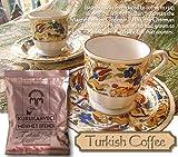トルココーヒーとデミタスコーヒーカップ2客セット