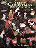 img - for Teeny Christmas Ornaments 15 Designs in 10-mesh (Plastic Canvas) (3160) book / textbook / text book