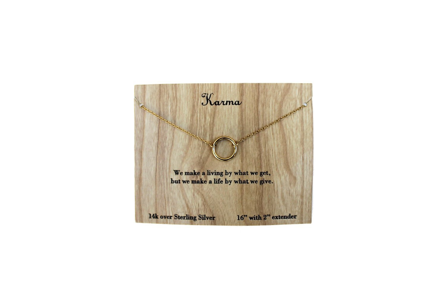 Low cost Silver Karma Band Group associated with Lifestyle Necklace Necklace around your neck -- Money Lower price Program code 2015