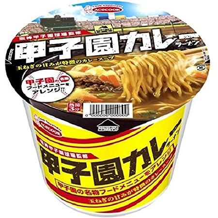 エースコック 阪神甲子園球場監修 甲子園カレーラーメン 117g×12個