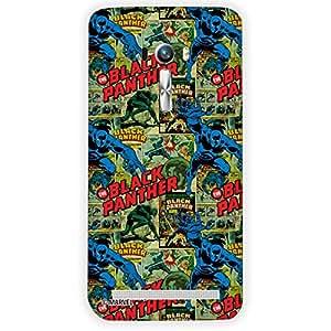 Marvel Civil War PBMARCOMAZSEL13 Black Panther Back Cover for Asus Zenfone Selfie (Multicolor)