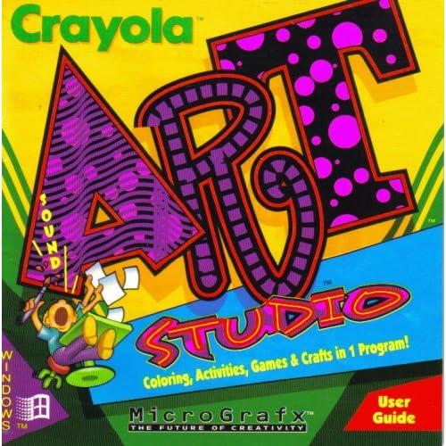 Crayola Art Studio [ Windows 3.1 or higher ] [ CD-ROM ]: MicroGrafx