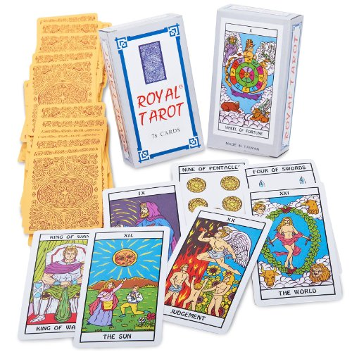 Mystic Fortune Teller Tarot Cards - One-Size
