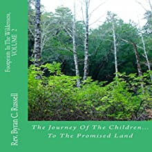 The Journey of the Children...to the Promised Land: Footprints in the Wilderness, Volume 2 Audiobook by Rev. Byran C. Russell Narrated by George Utley