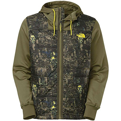 The North Face Wilcox Jacket Men's BURNT OLIVE GREEN CAMO (S)