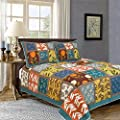 Tache 3 Piece Summer Day Party 100% Cotton Quilt