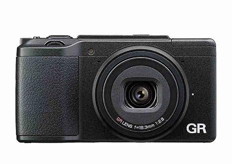 """Ricoh GR II Appareil photo numérique compact Ecran LCD 3"""" (7,62 cm) 16,2 Mpix USB/Wi-Fi/HDMI Noir"""